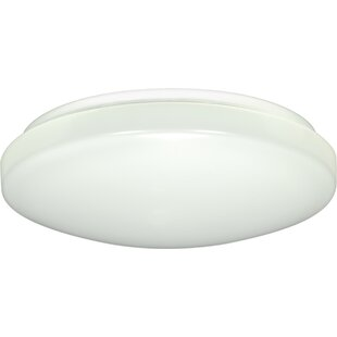 Price comparison Dahlquist 1-Light LED Outdoor Flush Mount By Ebern Designs