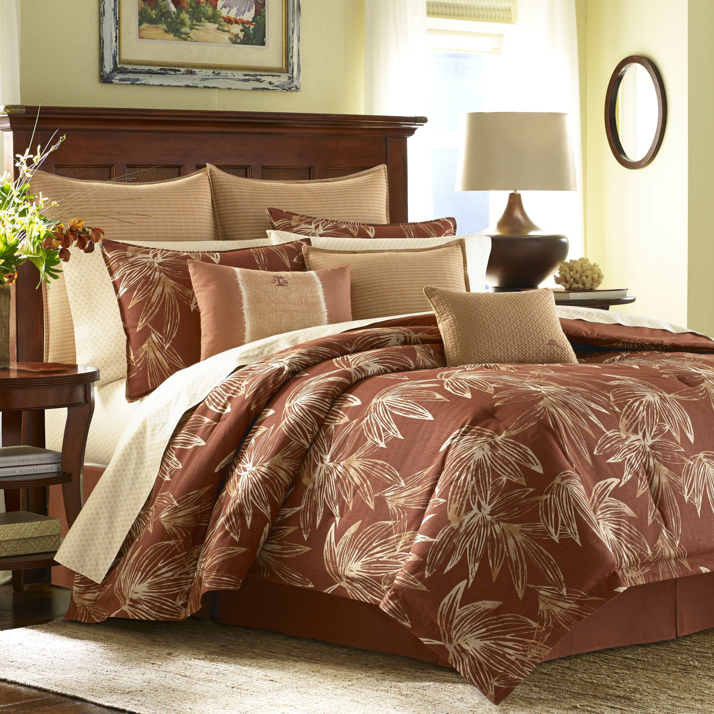 Tommy Bahama Home Cayo Cocco 4 Piece Comforter Set by Tommy Bahama ...