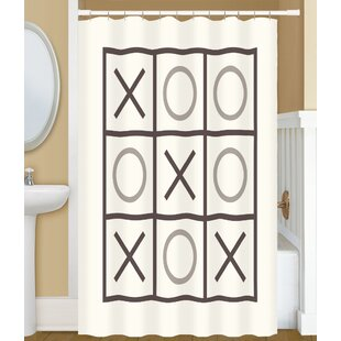 Dreketi Tic Tac Toe Single Shower Curtain