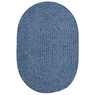 Spring Meadow Petal Blue Area Rug byColonial Mills