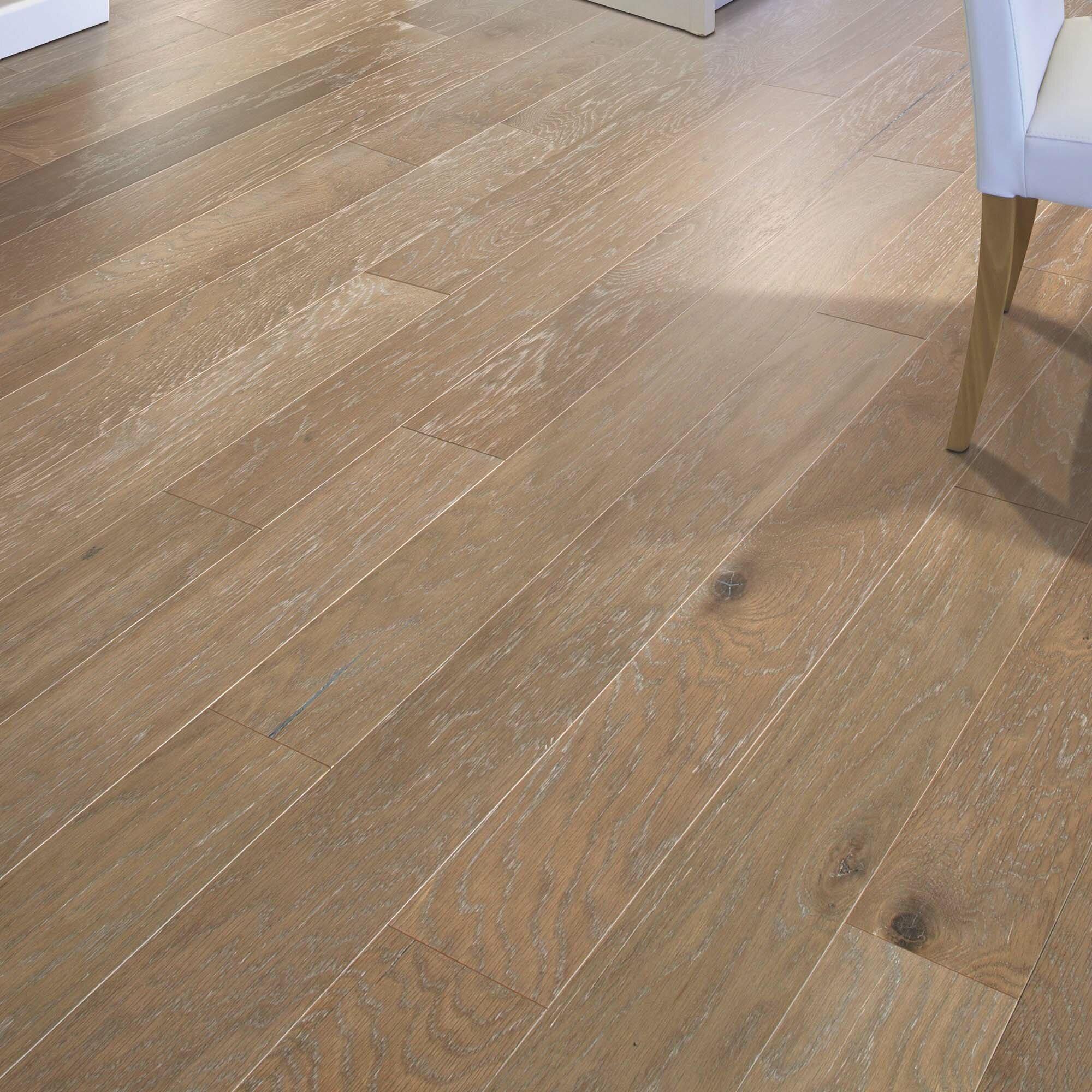 "American Villa Oak 5/5"" Thick x 5"" Wide x Varying Length Engineered  Hardwood Flooring"