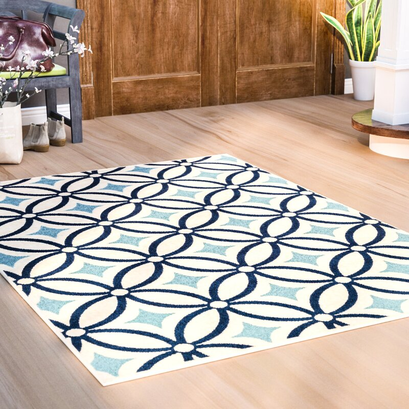 Cowell Blue Indoor Outdoor Area Rug Reviews Birch Lane