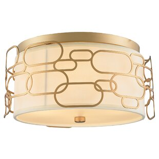 Everly Quinn Lilianna 5-Light Flush Mount