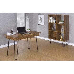 Central City Writing Desk with Bookcase by Ivy Bronx