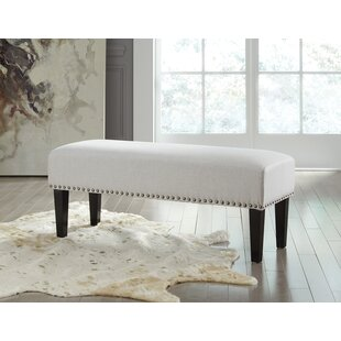 Deandra Wood Bench by Charlton Home Cheap