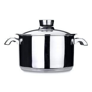 Invico Vitrum 7-qt. Stock Pot with Lid