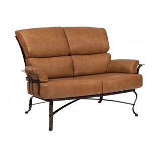 Woodard Atlas Loveseat with Cushions