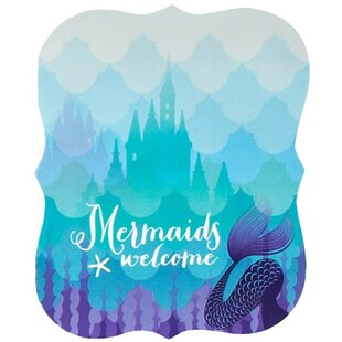 Mermaids Under the Sea Paper Disposable Party Invites (Set of 8)