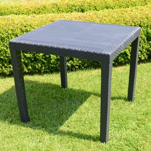 Isadora Plastic Dining Table By Sol 72 Outdoor