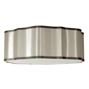 Radionic Hi Tech Atrow 3-Light Flush Mount
