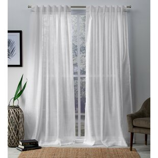 Knotted Top Curtains