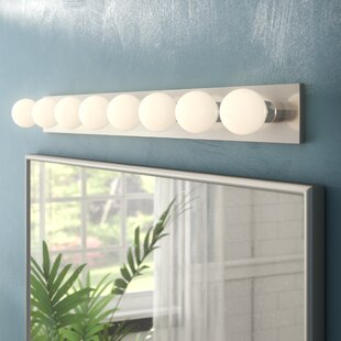 Wrought Studio Chaisson 8-Light Bath Bar