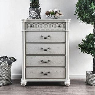 Zebediah 5 Drawer Chest by Rosdorf Park