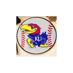 NCAA University of Kansas Baseball Mat