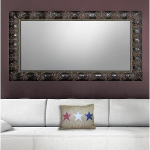 Reviews Claverton Down Feathered Bathroom/Vanity Mirror By Fleur De Lis Living