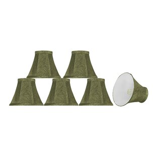Where buy  6'' Fabric Bell Lamp Shade (Set of 6) By Bay Isle Home