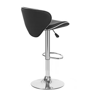 Kappa Adjustable Height Swivel Bar Stool