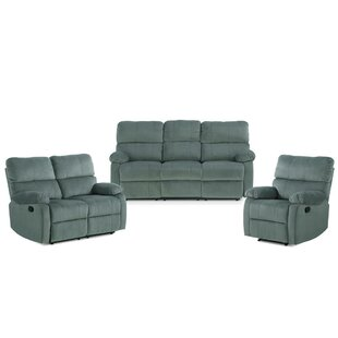Laci 3 Piece Reclining Living Room Set