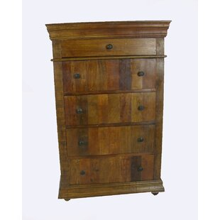 Affordable Sheehan 5 Drawer Chest by Loon Peak