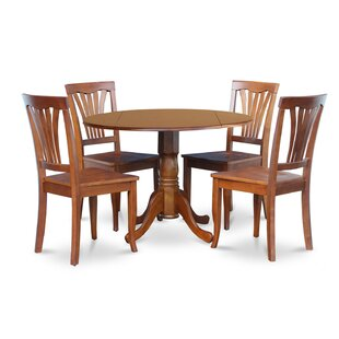 Dublin 5 Piece Dining Set by Wooden Importers 2019 Sale
