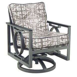 Sunrise Swivel Rocking Chair with Cushion