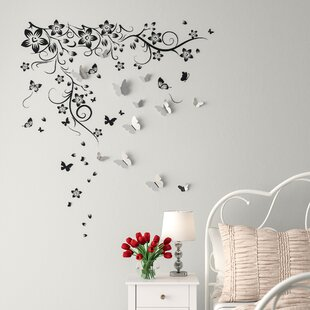 Black Design with Vinyl RAD 1029 3 Together Forever Love Life Quote Wall Decal 20 x 30