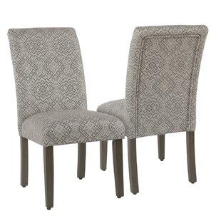 Charlton Home Kelm Upholstered Dining Chair (Set of 2)