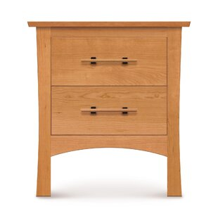 Monterey 2 Drawer Nightstand by Copeland Furniture Design