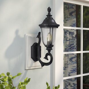 Three Posts Bowe 1-Light Outdoor Sconce