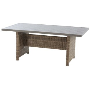 Daniyal Praline Dining Table By Sol 72 Outdoor