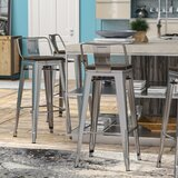 Mcvay 30 Bar Stool (Set of 4) by Williston Forge
