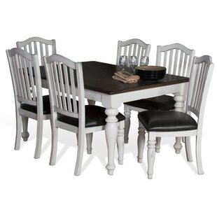 Kempsford 7 Piece Extendable Dining Set Rosalind Wheeler