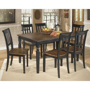 Carrol 7 Piece Dining Set Winston Porter