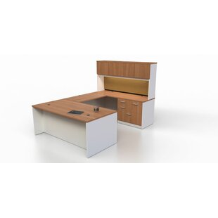 Intrinsic 4 Piece U-Shape Desk Office Suite