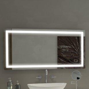 Harmony Illuminated Bathroom/Vanity Wall Mirror ByParis Mirror
