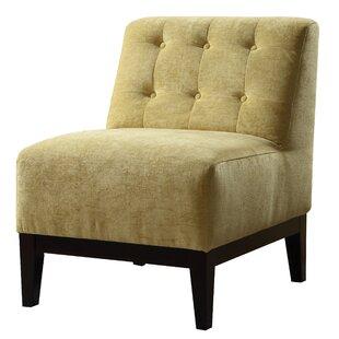 Tucker Slipper Chair by Ivy Bronx Amazing
