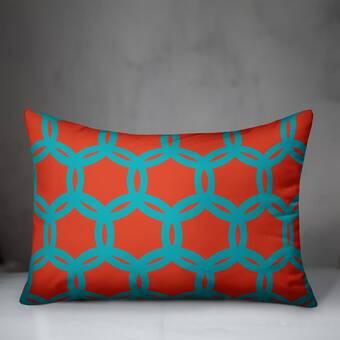 Fleur De Lis Living Teneyck Embroidered Throw Pillow Reviews Wayfair