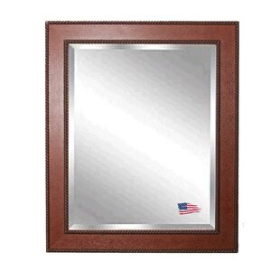 Darby Home Co Rectangle Western Rope Wall Mirror
