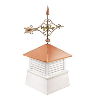 Manchester Vinyl Cupola With Arrow Weathervane By Good Directions