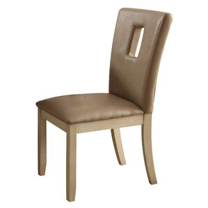 Neponset Rectangle Cut-out Backrest Side Chair (Set of 2) by Red Barrel Studio