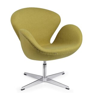 Marinette Swivel Armchair by Orren Ellis