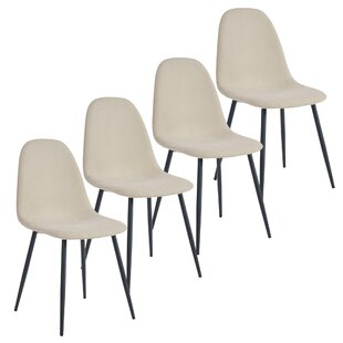 Debi Upholstered Dining Chair (Set of 4) Wrought Studio