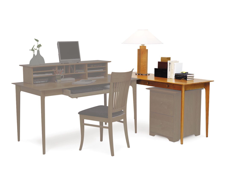 Copeland Furniture Sarah Return And Keyboard Tray Desk Wayfair