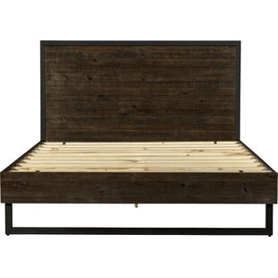 Underhill Wood and Metal Platform Bed