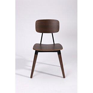 Pearlie Solid Wood Dining Chair Corrigan Studio