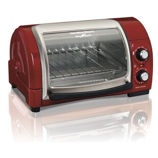 Easy Reach Toaster Oven with Roll-Top Door