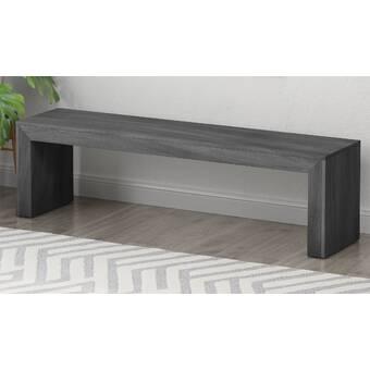 Foundry Select Clausen Wood Bench Wayfair