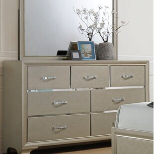 Ireland 7 Drawer Standard Dresser/Chest by House of Hampton #2
