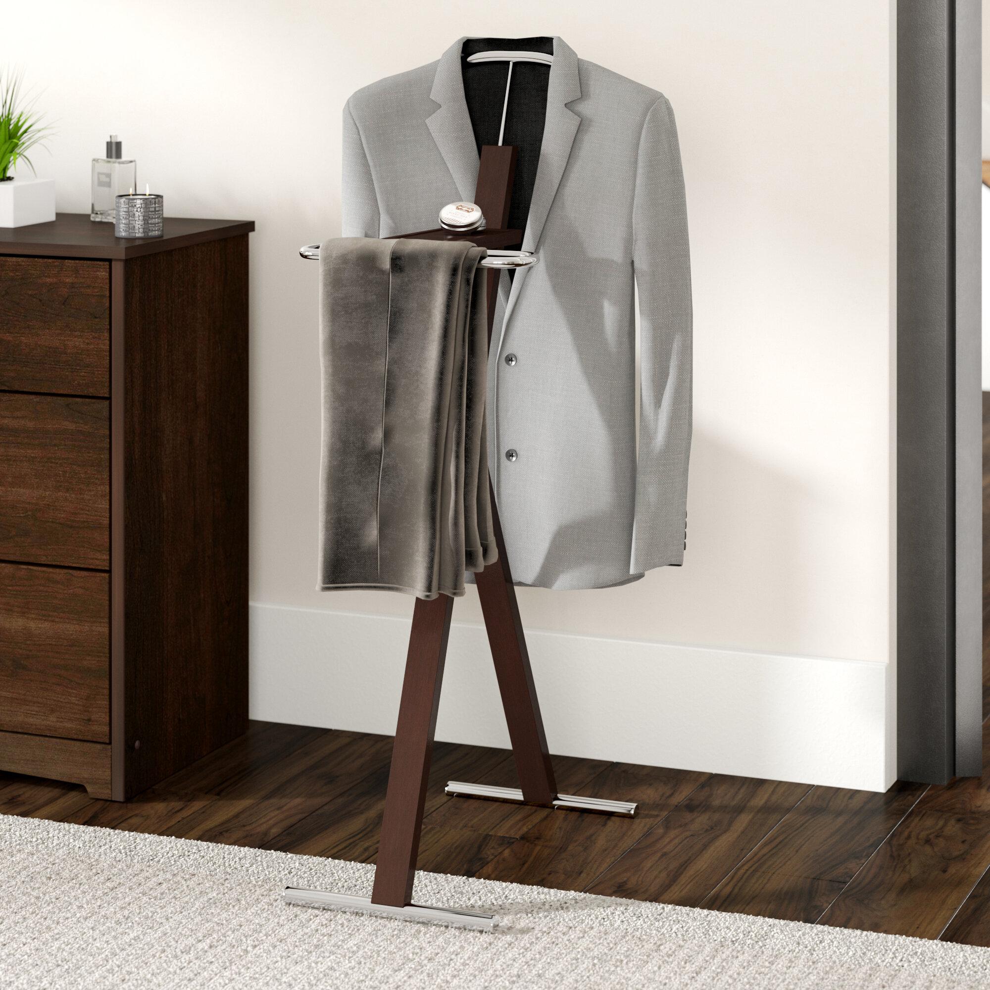 Ordinaire Zipcode Design Katrice Metal Bedroom Valet Stand U0026 Reviews | Wayfair