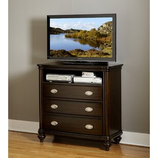 Darby Home Co Nathaniel 3 Drawer Media Chest Image
